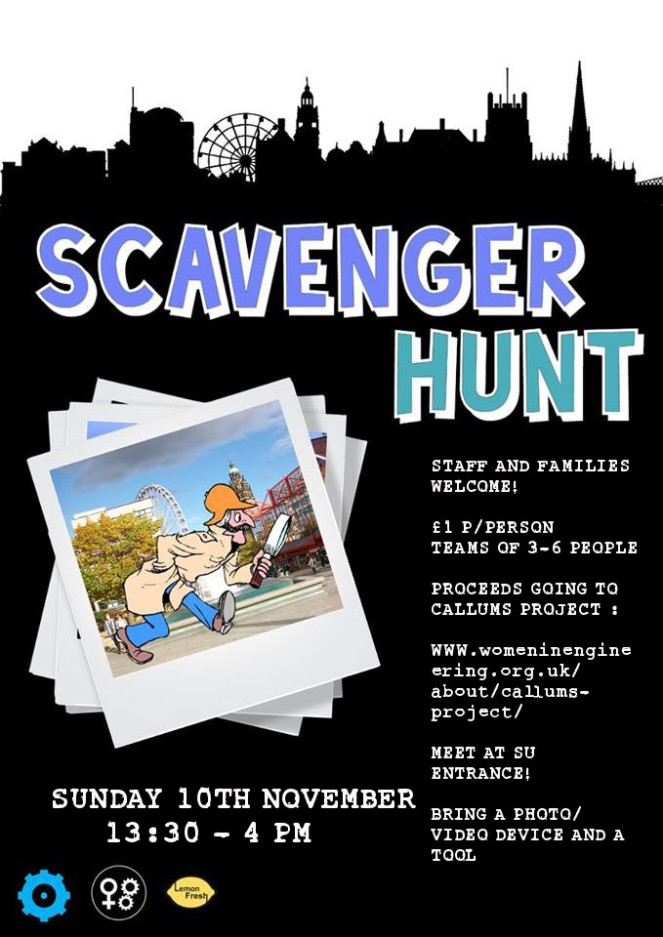 Callums' Scavenger Hunt