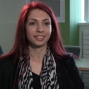 Galatia Partheniou. Computer Science Student