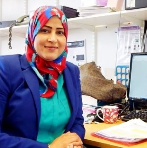 Fahima Indeir. Materials Science and Engineering PhD Student
